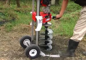 WAUG-500 移動式挖孔機
